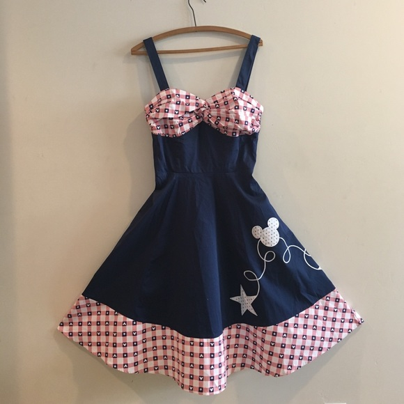 f00051aa04066 Disney Parks Dresses | Mickey Mouse Americana Dress | Poshmark